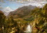 Church, Edwin Frederic: The Heart of the Andes. Landscape Fine Art Print/Poster. Sizes: A4/A3/A2/A1 (001037)